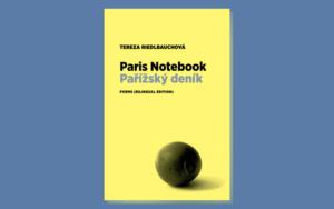 Paris Notebook front cover